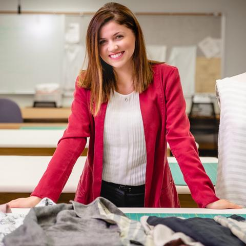 Anesa Kajtazovic stands behind her new clothing line
