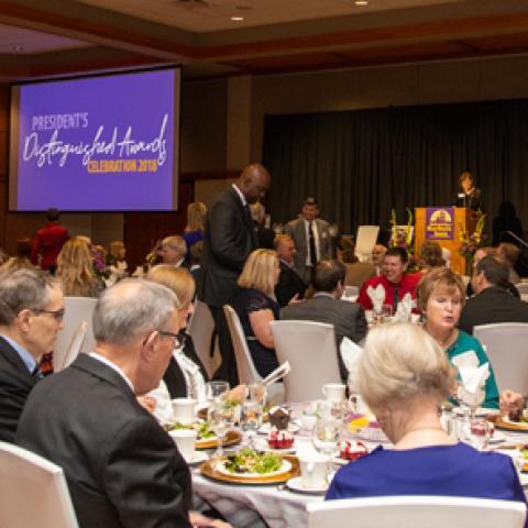 Distinguished Awards Celebration