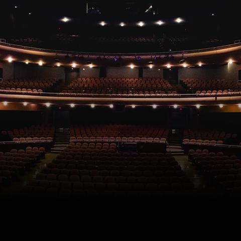 The Great Hall of the Gallagher Bluedorn Performing Arts Center